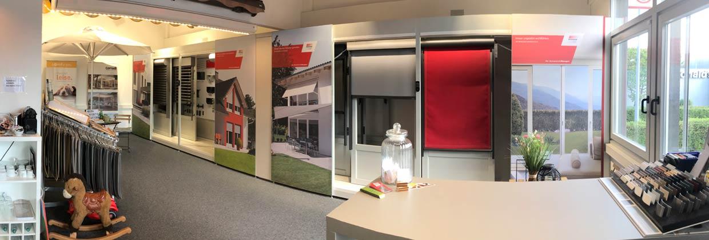Ausstellungsraum Mayer Rollladen in Pfullingen raum 1