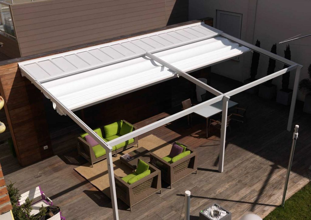 Pergolamarkise Outdoorliving Pergola