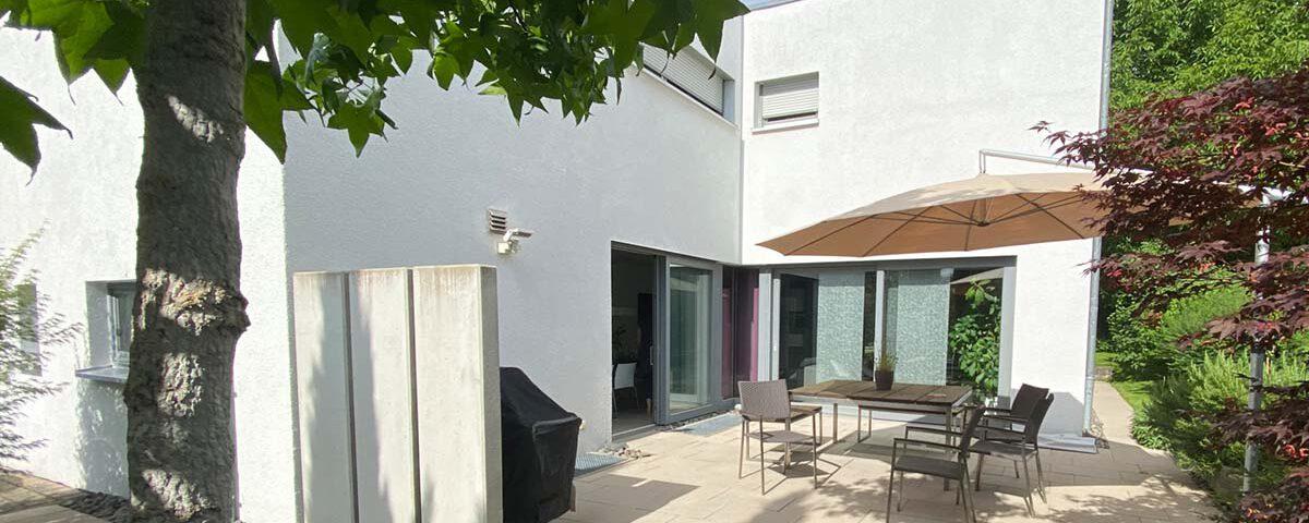 Einfamilienhaus Sonnenschutz