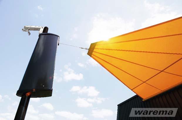 Sonnensegel automatisch Einziehbar